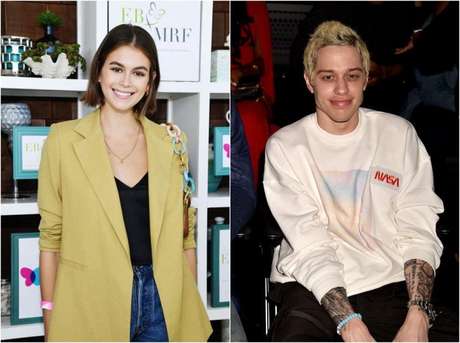 Kaia Gerber i Pete Davidson są razem? Co na to Cindy Crawford?