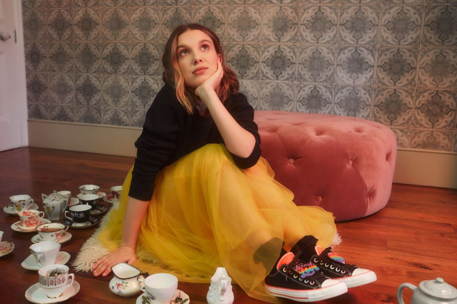 Millie Bobby Brown x Converse - kolekcja Be You