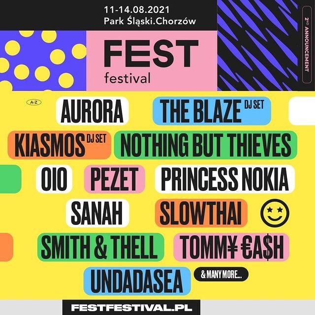 QUIZ: Na które koncerty Fest Festivalu powinieneś pójść?