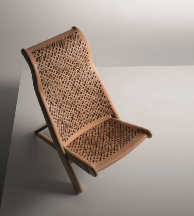 Palaver Chair , Patricia Urquiola, Objects Nomades 2017, Louis Vuitton - Kolekcja mebli Objects Nomades 2017 od Louis Vuitton