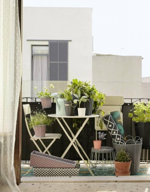 Mały Balkon Fot Ikea Jak Urządzić Mały Balkon