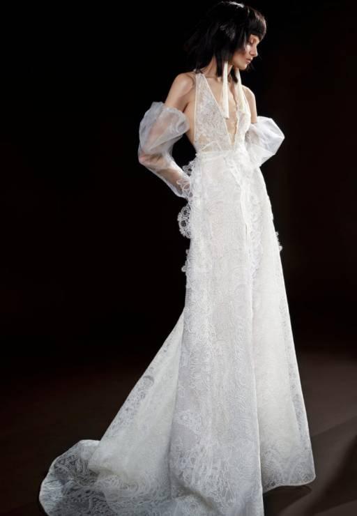 Suknie ślubne Vera Wang Wiosna 2018 Elle Wedding Trendy Wiosna