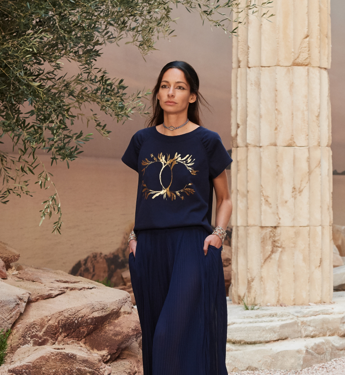 Chanel Resort 2018 - tshirt - Chanel Cruise 2018