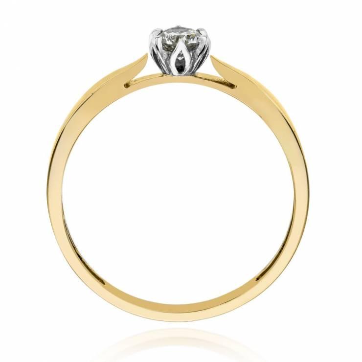 Złoty Pierścionek Zaręczynowy Pierścionki Zaręczynowe Wkruk