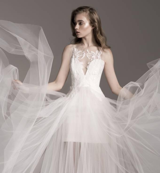 Suknia ślubna Z Tiulu Lidia Kalita Bridal Suknie ślubne Lidia