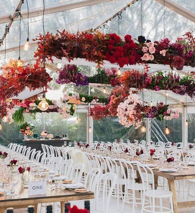 Kwiaty ślub Dekoracje ślubne Dużo Inspiracji