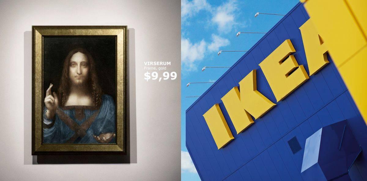 Ikea Reaguje Na Sprzedaż Obrazu Leonarda Da Vinci Elle Decoration