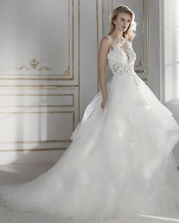 Suknie ślubne La Sposa Wiosna Lato 2018 Elle Wedding Trendy