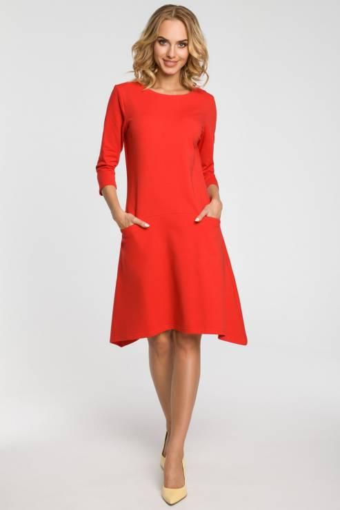 94780d6531 Czerwona sukienka - Czerwone sukienki na święta