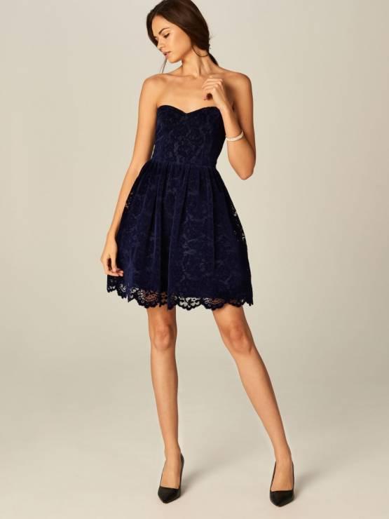56664448 Rozkloszowana sukienka Mohito - Rozkloszowane sukienki