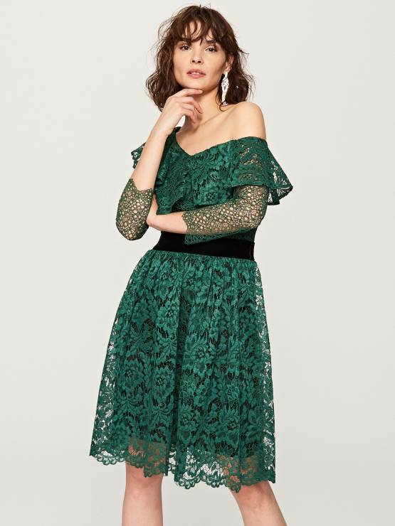091385d14e Rozkloszowana sukienka Reserved - Rozkloszowane sukienki