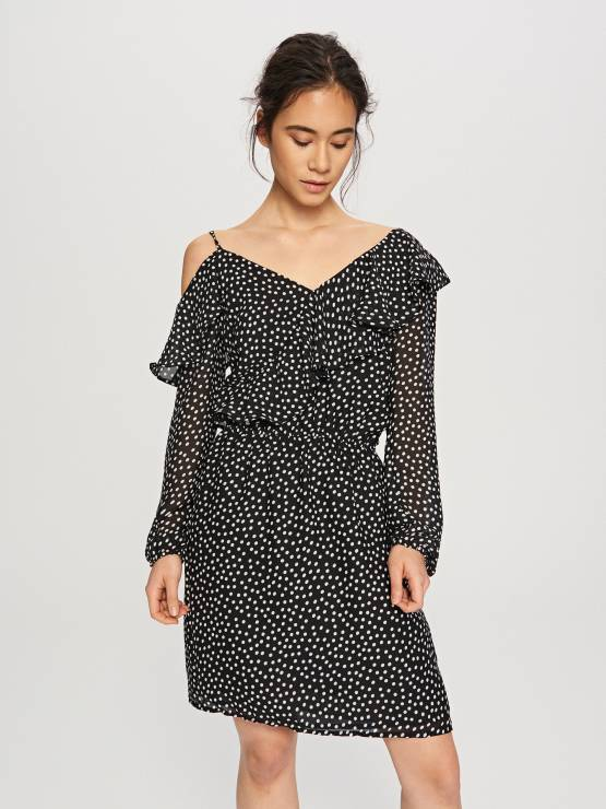 187a42929f Sukienka w groszki - Modne sukienki z Reserved na wiosnę 2018