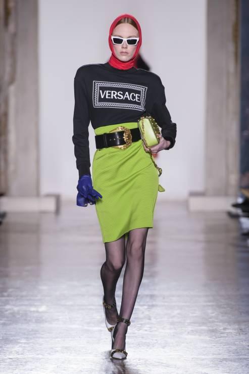 Najnowszy pokaz Versace - Versace jesień-zima 2018/2019