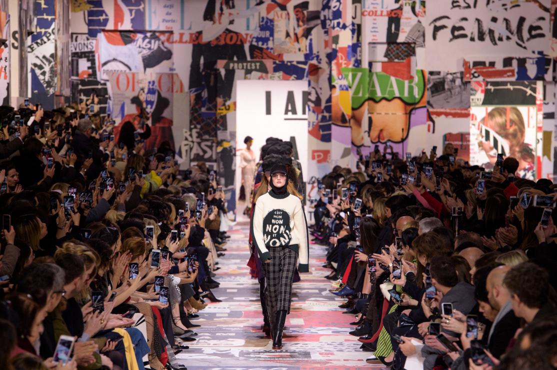 Najnowszy pokaz Dior - Dior jesień-zima 2018/2019