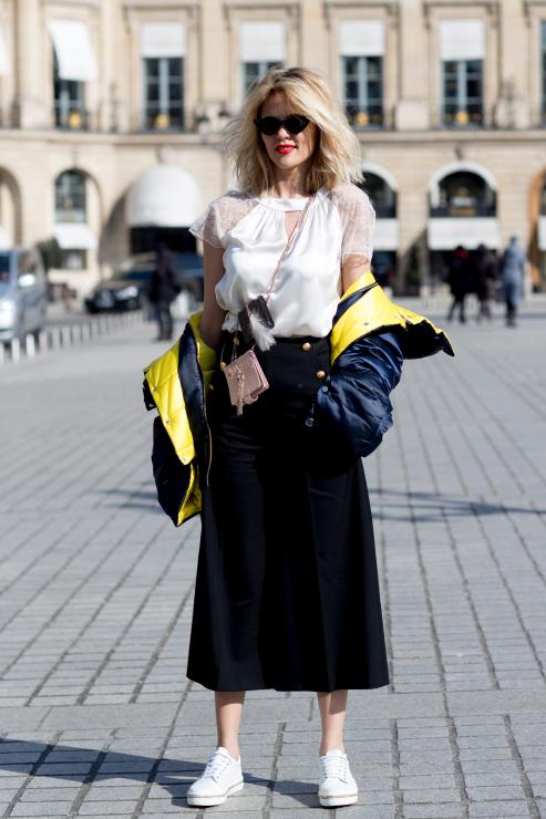 Streetstyle na Paryskim Tygodniu Mody - Street fashion: Paris Fashion Week jesień-zima 2018/2019
