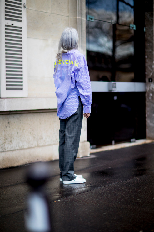 Street Style Paris Fashion Week - Street fashion: Paris Fashion Week jesień-zima 2018/2019 - część trzecia