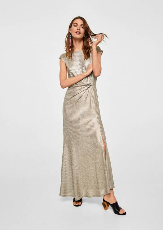 3b2bb0e71d Długa sukienka na wesele Mango - Sukienki na wesele  trendy 2018