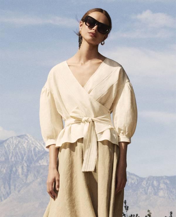 Bluzka Zara SS18 - Nowa kolekcja Zara wiosna-lato 2018