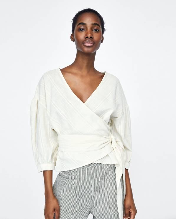 Bluzka Zara - Nowa kolekcja Zara wiosna-lato 2018