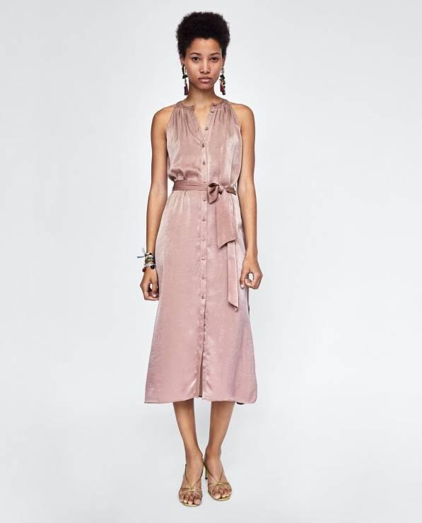 Sukienka Zara - Nowa kolekcja Zara wiosna-lato 2018