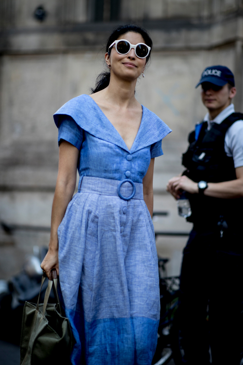 Streetstyle haute couture AW18 - Street fashion: Paris Fashion Week haute couture jesień-zima 2018/2019