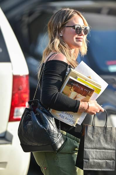 cb71f8127dc56 Hilary Duff i plecak Chanel - Plecak vintage