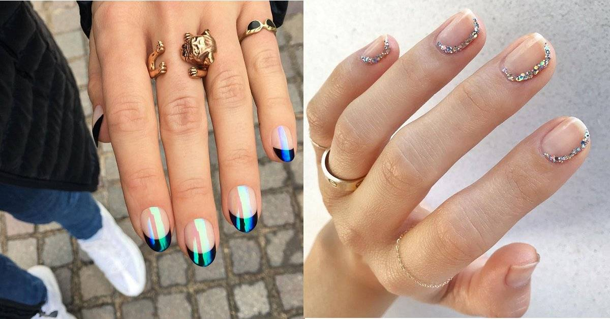 Paznokcie 2019 - trendy: CD nails - Modne paznokcie 2019: CD nails