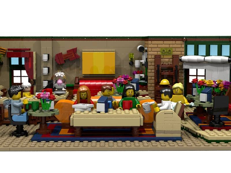 The Central Perk, zestaw LEGO z serialu Przyjaciele - Kawiarnia z serialu Przyjaciele jako zestaw LEGO