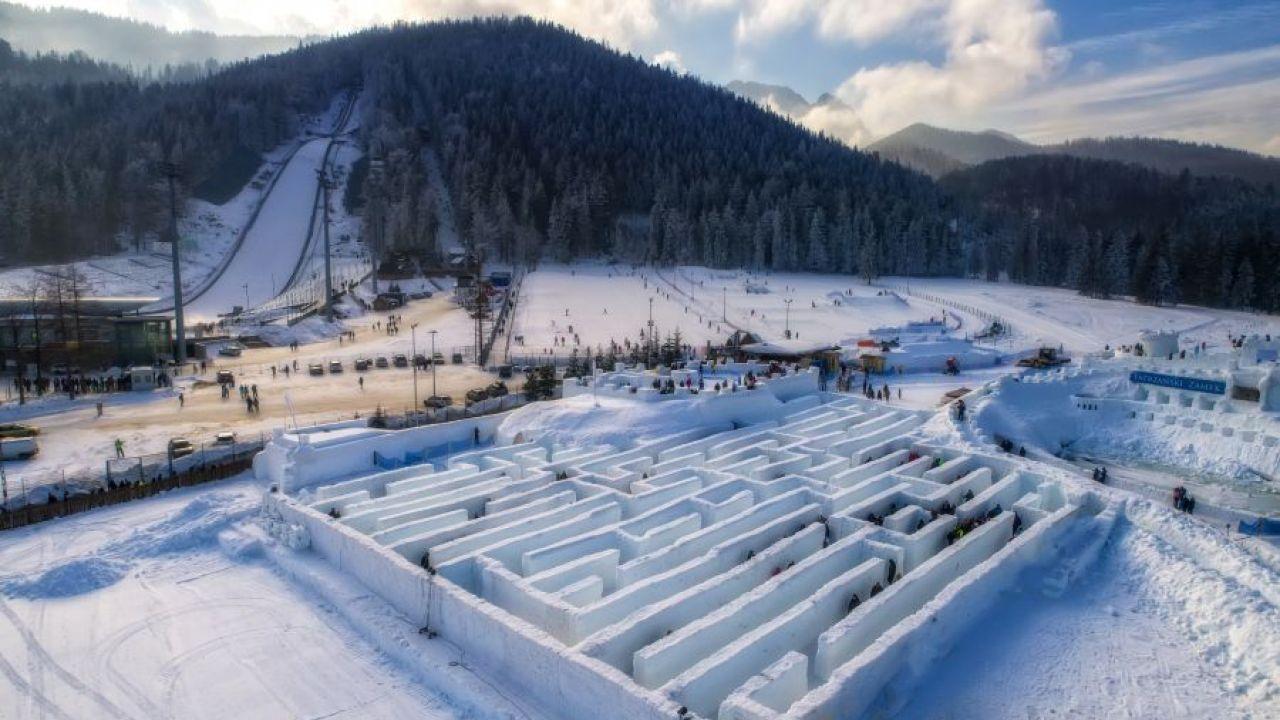 śnieżny Labirynt W Zakopanem Elle Decoration Trendy Wiosna Lato