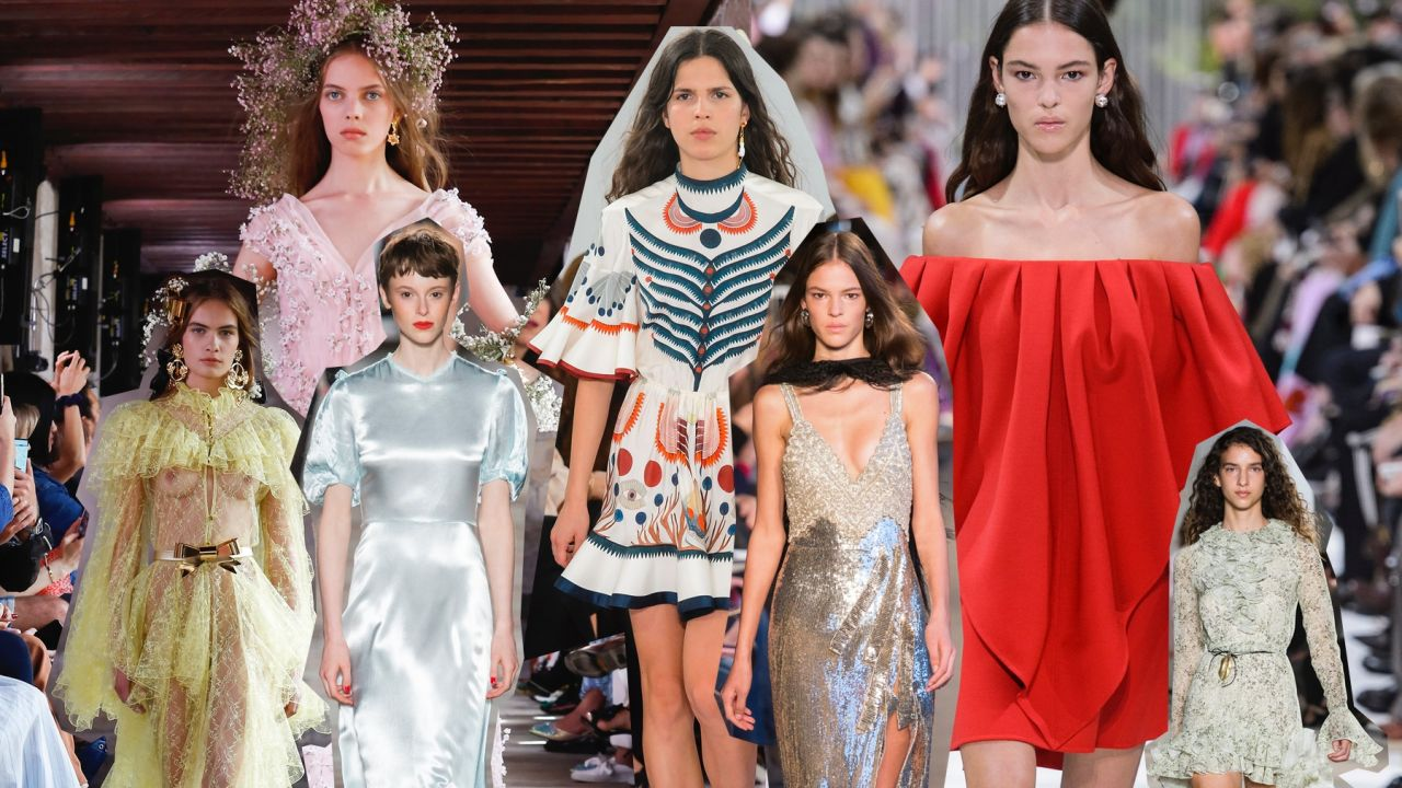 5d54d5c1f3 Modne sukienki  wiosna 2018  - Elle.pl - trendy wiosna lato 2019 ...