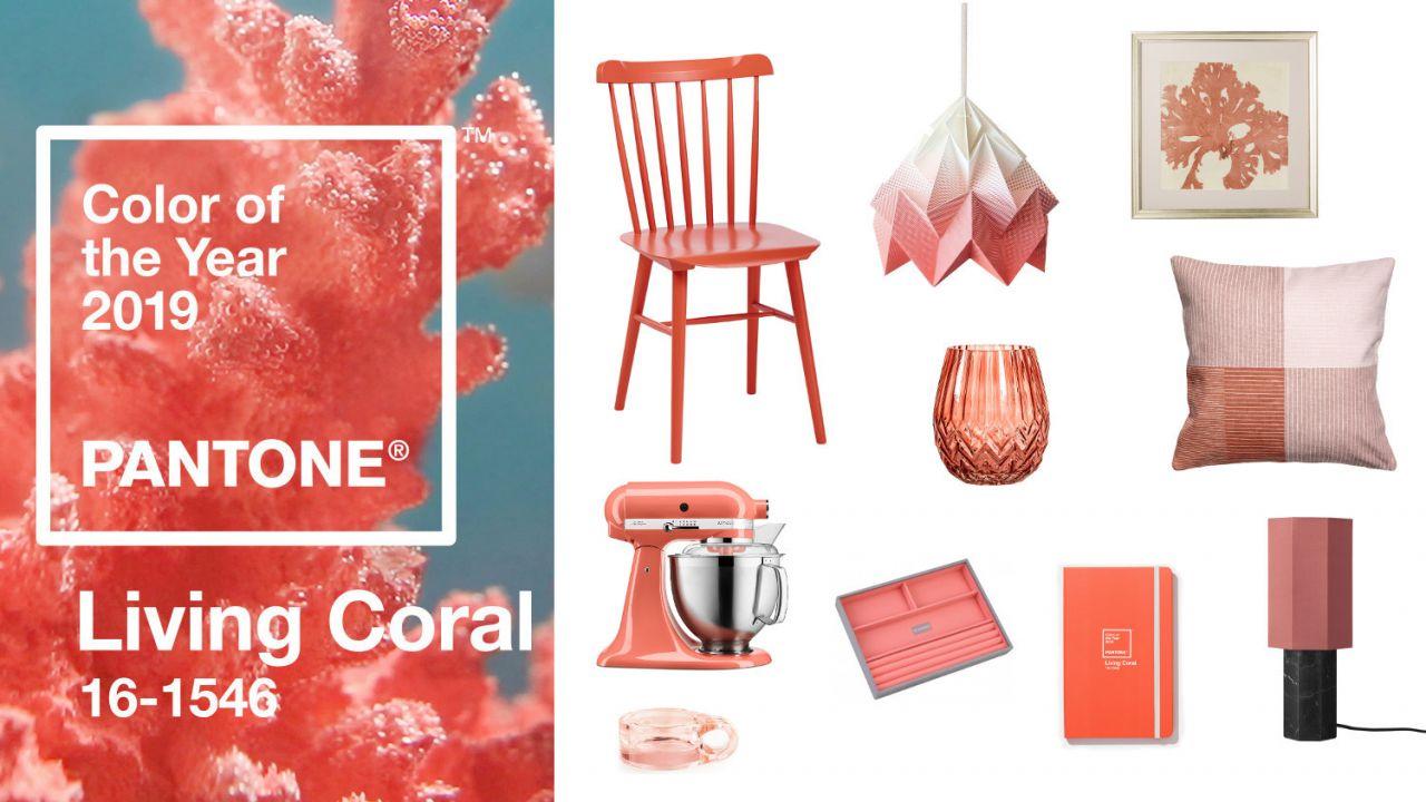 e0903ccdb5f384 10 dodatków do wnętrz w kolorze roku Pantone 2019 Living Coral ...