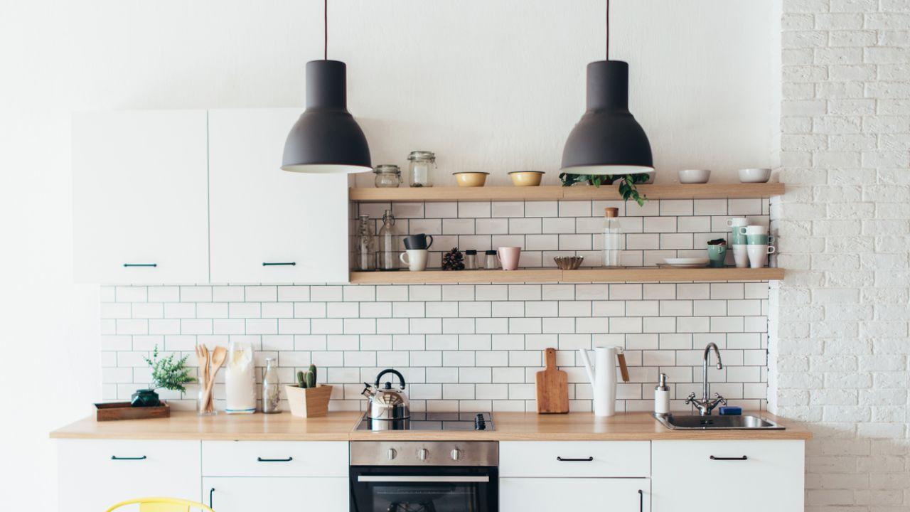 Białe Cegiełki Gorący Trend W Kuchni I łazience Elle