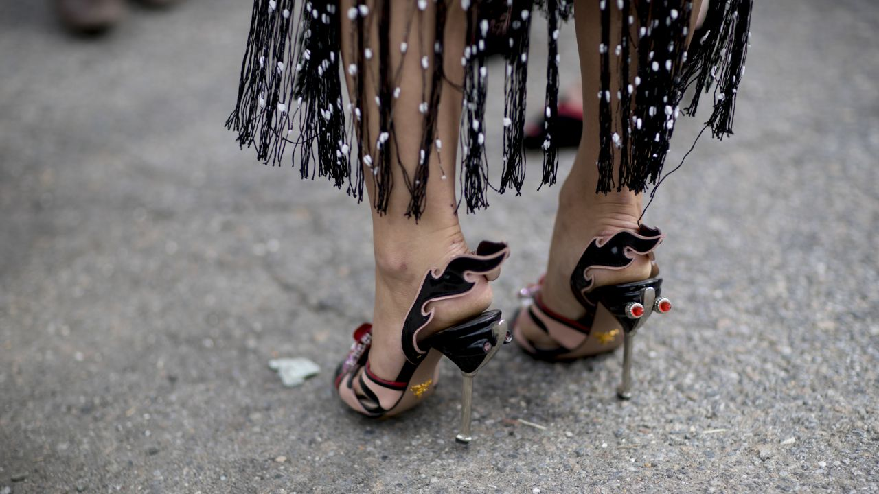 Street Fashion Buty I Dodatki Z New York Fashion Week