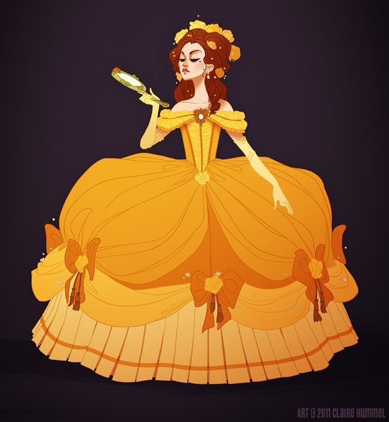 93da698087 Księżniczki Disneya w strojach z epoki - Elle.pl - trendy wiosna lato 2019   moda