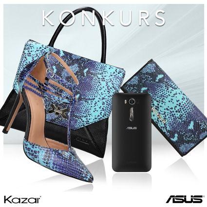 83452098 ... na fanpage Kazar trwa KONKURS, w którym do wygrania są wyjątkowe  nagrody od KAZAR i ASUS: bon na zakupy w Kazar o wartości 500 zł i  nowoczesny smartfon ...