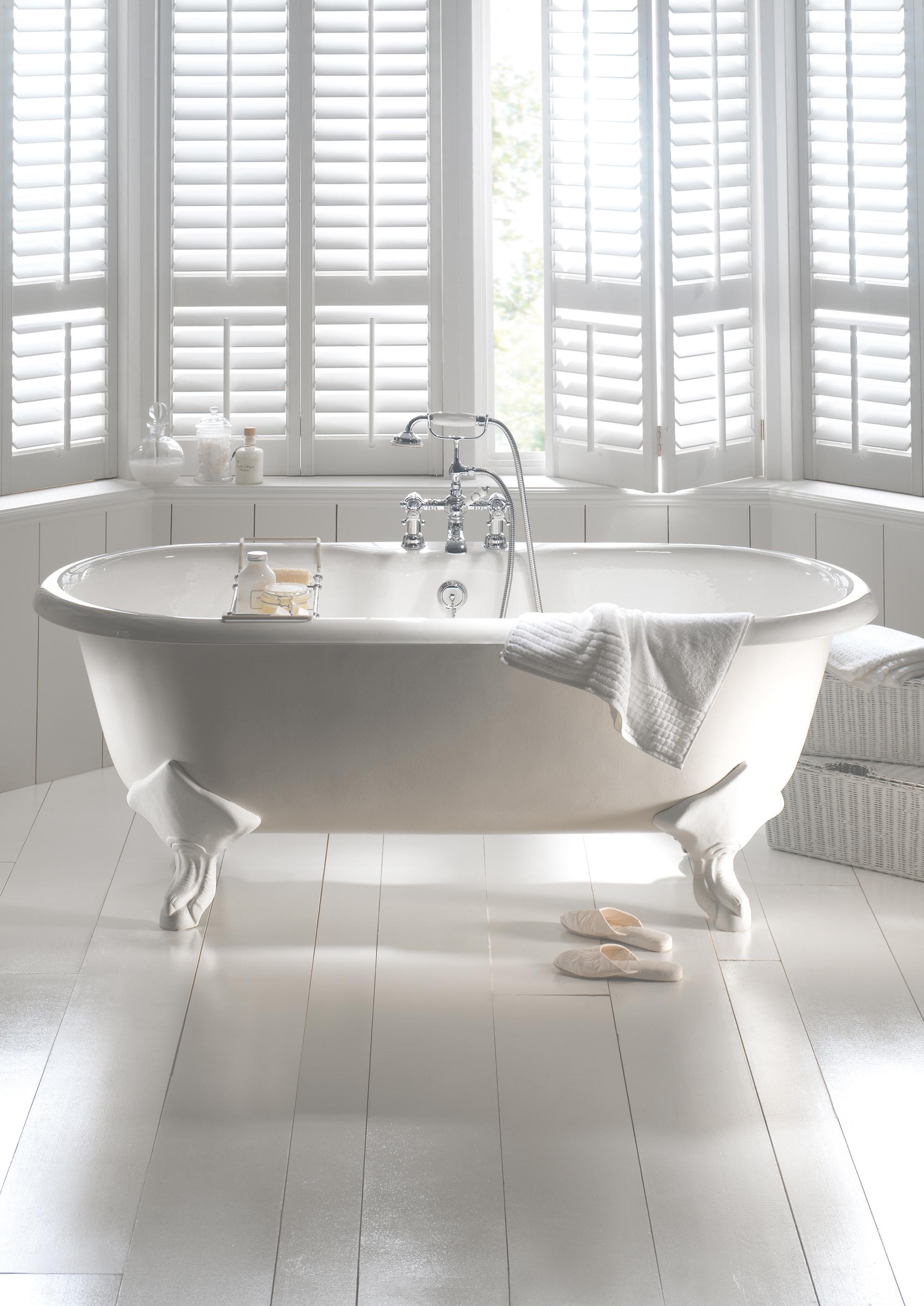 Biała łazienka Inspiracje Elle Decoration Trendy Jesień