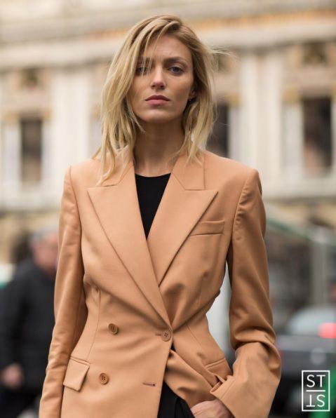 fe8aa0c5f8 Anja Rubik w obiektywie Szymona Brzóski na tygodniu mody w Paryżu  fot.  Szymon Brzóska  stylestalkernet Instagram
