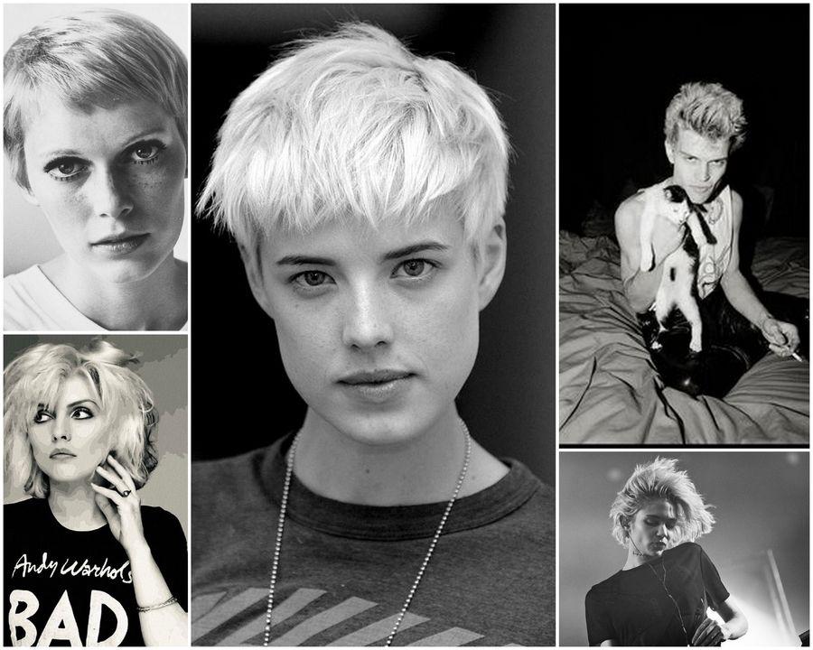 Krótkie Fryzury Blond Ellepl Trendy Jesień Zima 2019