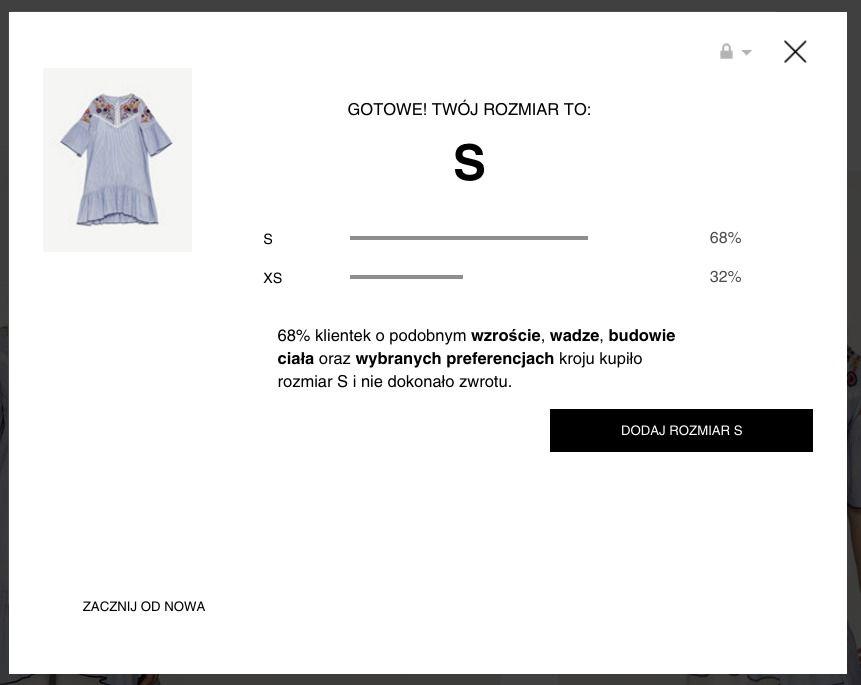 Zara pomoże ci dobrać odpowiedni rozmiar Elle.pl trendy