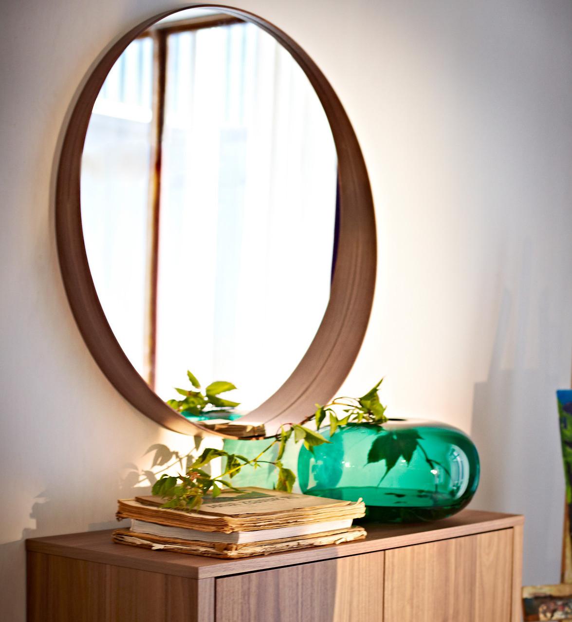 Najciekawsze Lustra Z Ikea Elle Decoration Trendy Jesień