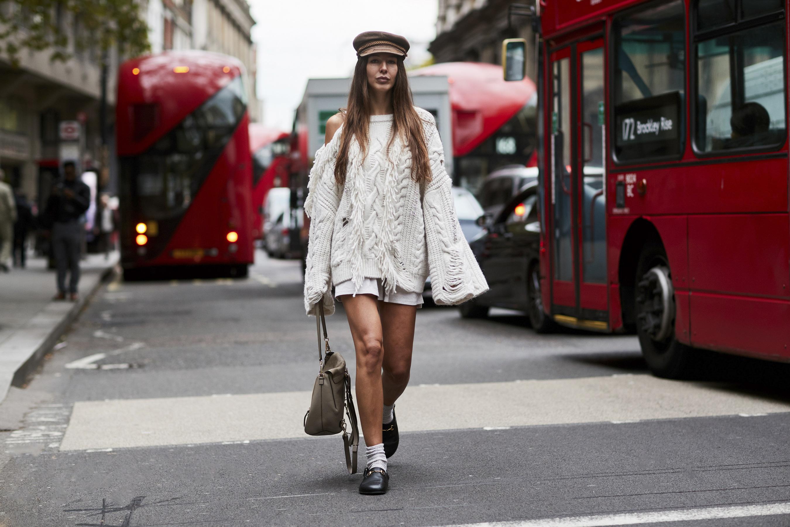 Street Fashion London Fashion Week Wiosna Lato 2018 Trendy Wiosna Lato 2018 Modne