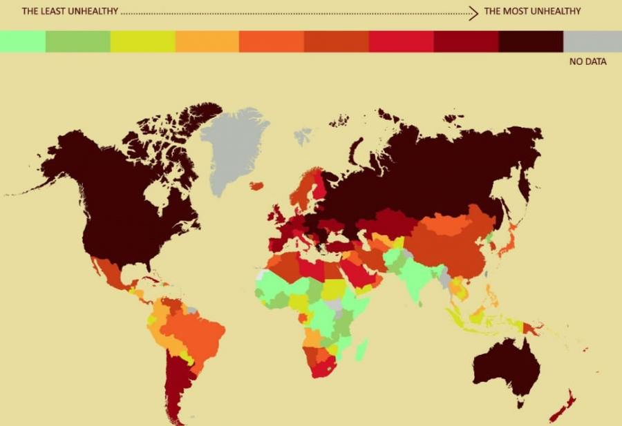 Ranking Najzdrowszych I Najmniej Zdrowych Krajów świata