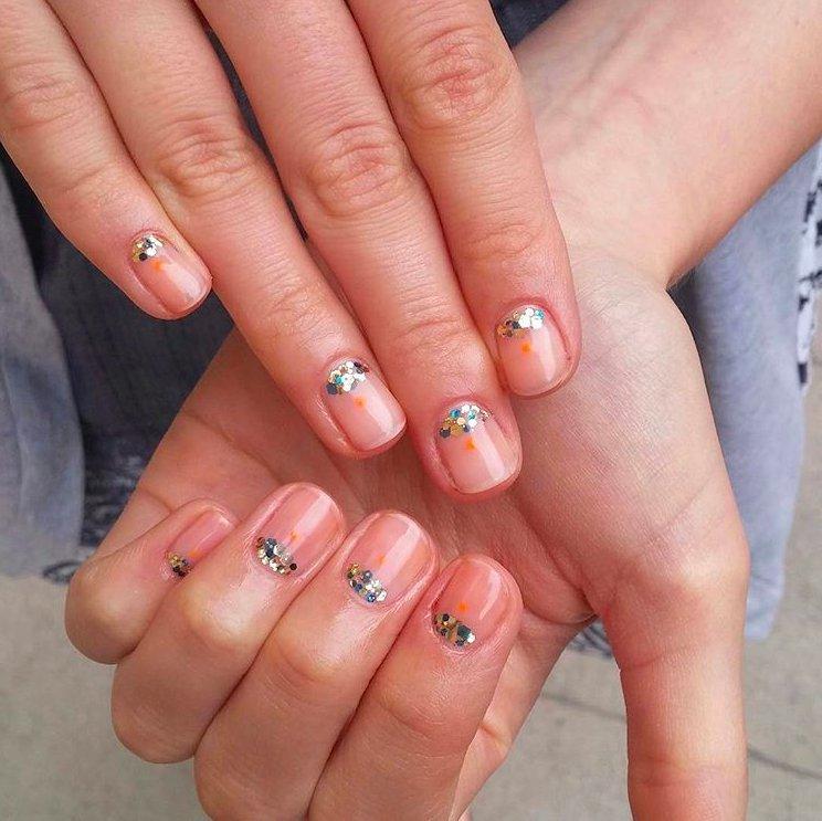 Naturalny Manicure Ellepl Trendy Jesień Zima 2018 Modne