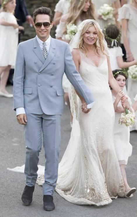 32e5a0c4d8 Słynne suknie ślubne gwiazd - Elle Wedding - trendy wiosna lato 2019  moda