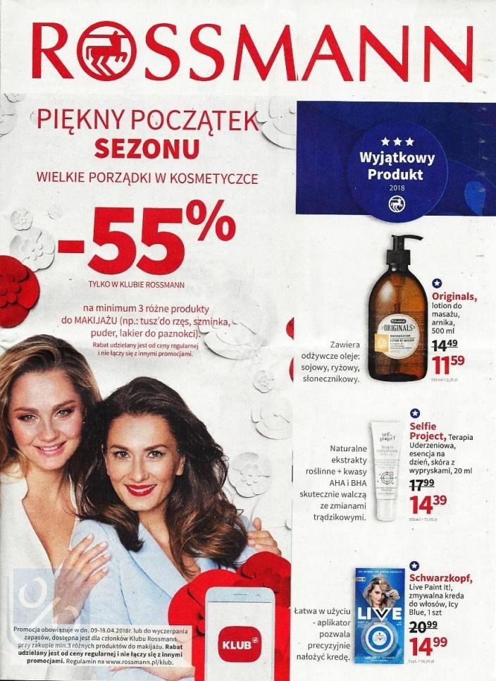fa02c43446ec7a Promocja w Rossmann: -55% na produkty do makijażu! Sprawdź, które kosmetyki  możesz kupić po niższej cenie >>