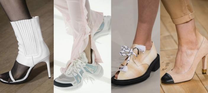 12e1b9f79a10a Modne buty na wiosnę 2018 - gdzie je kupić? Później, w poszukiwaniu modnych  butów na wiosnę 2018 zajrzałyśmy do sieciówek. O tym, że projektanci  popularnych ...