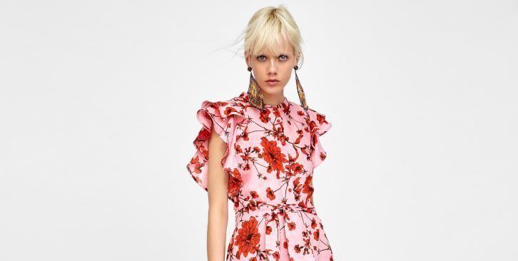 25ae2527f5baf2 Wyprzedaż Zara: najładniejsze sukienki na sezon wiosna-lato 2018 - Elle.pl  - trendy wiosna lato 2019: moda, modne fryzury, buty, manicure, sukienki,  ...