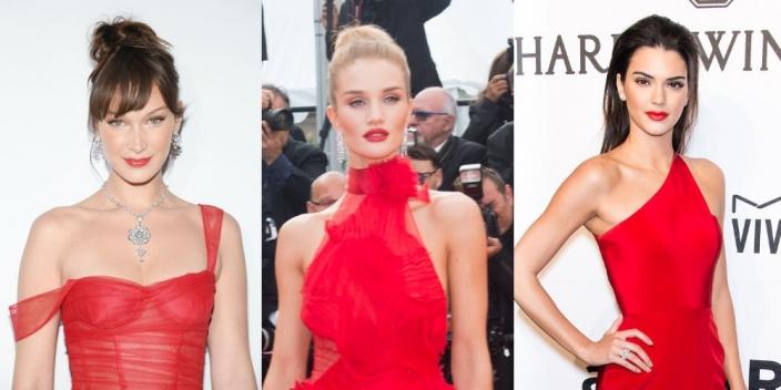 Makijaż Do Czerwonej Sukienki 4 Inspiracje Od Gwiazd Ellepl