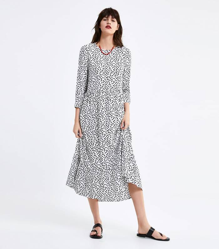 Ta sukienka z Zary podbija instagram Elle.pl trendy