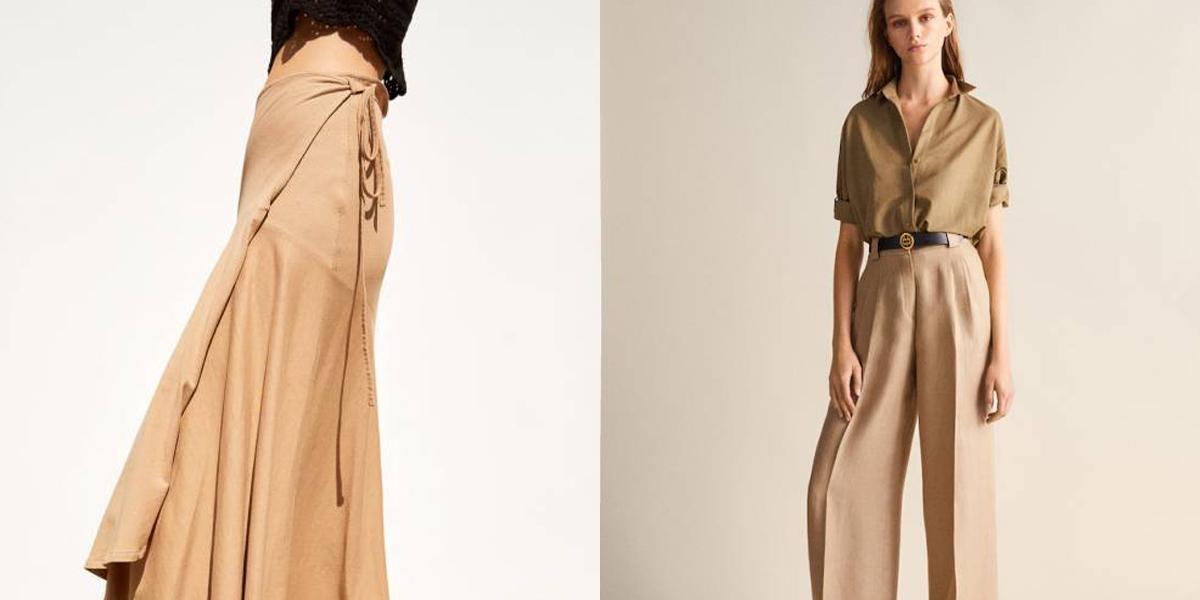 328f03864c Beżowe ubrania z nowych kolekcji - Elle.pl - trendy wiosna lato 2019  moda